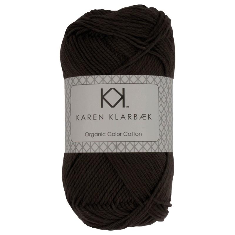 0003 - Dark Grey Karen Klarbæk Bomuld 8/4 økologisk