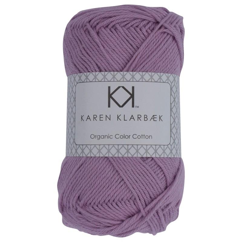 0009 - Lilac Karen Klarbæk Bomuld 8/4 økologisk