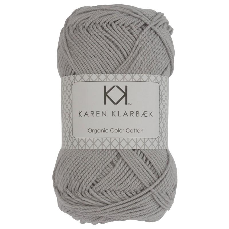 0025 - Light Cool Grey Karen Klarbæk Bomuld 8/4 økologisk