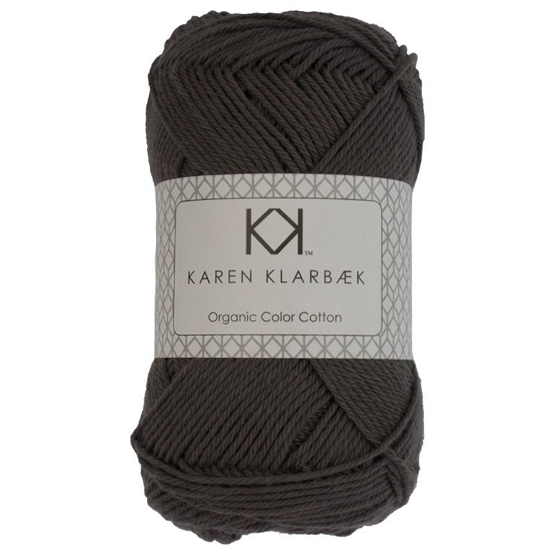 0027 - Charcoal Karen Klarbæk Bomuld 8/4 økologisk
