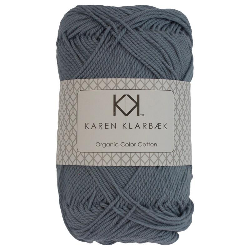 0028 - Faded Jeans Blue Karen Klarbæk Bomuld 8/4 økologisk