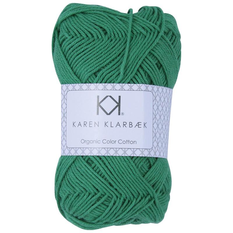 0053 - Jolly Green Karen Klarbæk Bomuld 8/4 økologisk