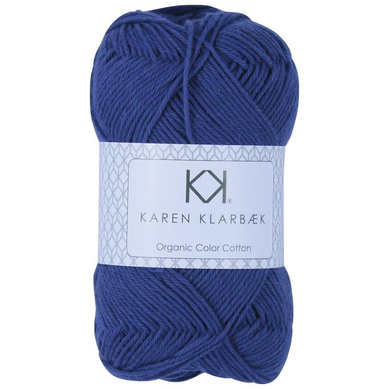 0054 - Dark Lavender Karen Klarbæk Bomuld 8/4 økologisk