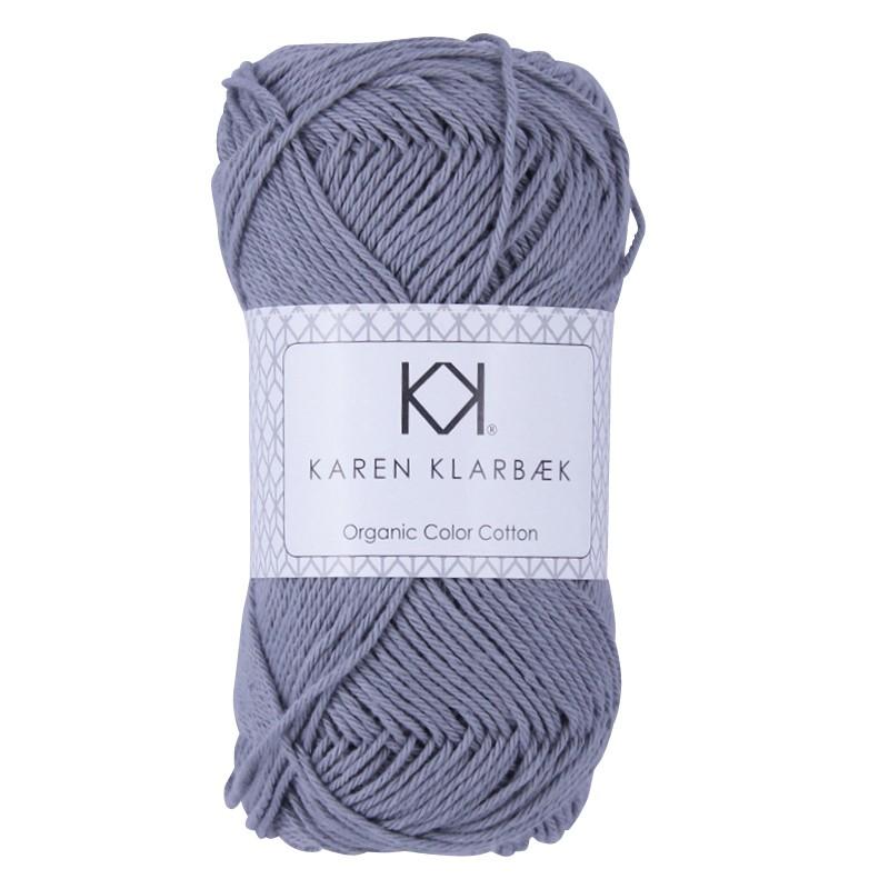 0062 - Medium Grey Karen Klarbæk Bomuld 8/4 økolog