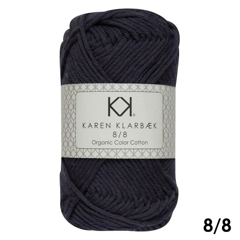 1016 Navy Blue Karen Klarbæk Bomuld 8/8 økologisk