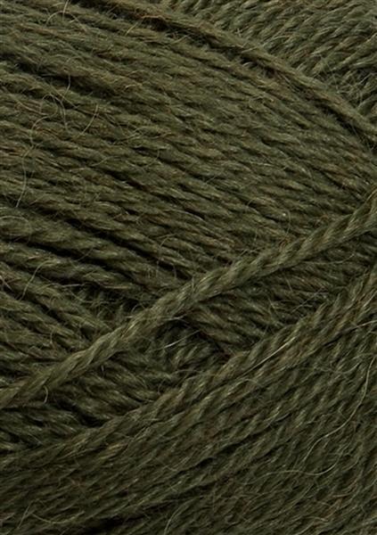 9573 Mosegrøn Mini Alpakka