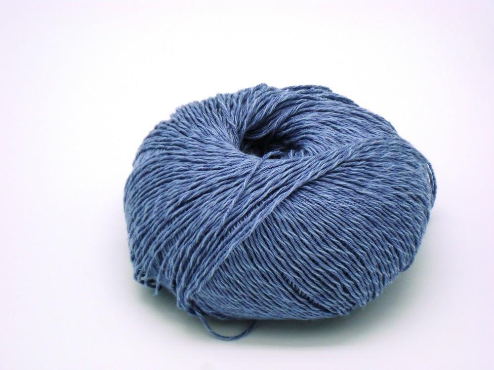 14 Mellem Blå Linea garn fra Cwec