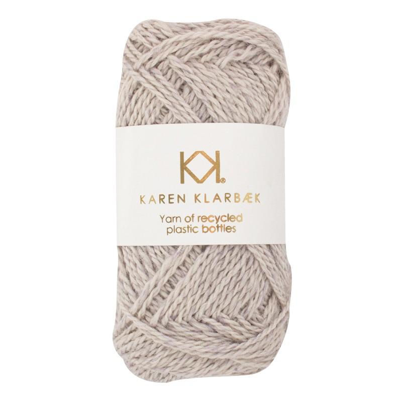 3002 - Light Grey Karen Klarbæk  genbrugsflaske garn
