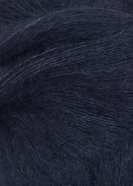 6081 Dyp Blå silk mohair fra Sandnesgarn