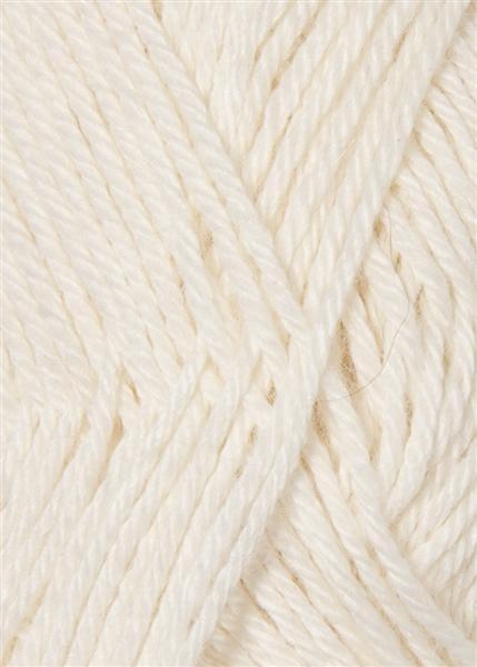 1001 optisk hvid Alpakka