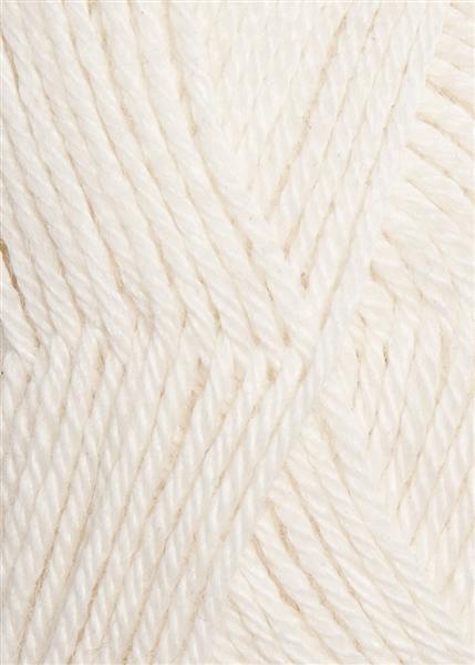 1002 Hvid  Alpakka Uld
