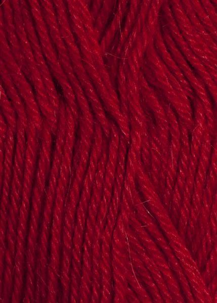 4219 Rød Alpakka Uld