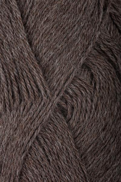 2652 Mellombrun Melert  Alpakka Sandnes garn