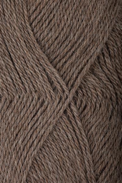 3151 Mørk Beigemelert Mini Alpakka