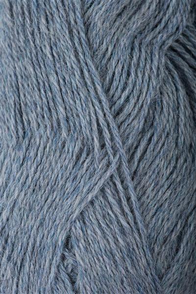6221 Lys Blåmelert Mini Alpakka
