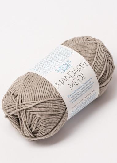 Mandarin Medi - 100 % blødt bomuldsgarn
