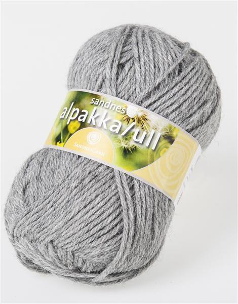 Alpakka uld sandnes garn 65% alpakka og 35% uld