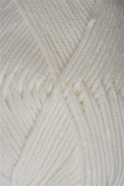 1002 Hvid Merino sandnesgarn