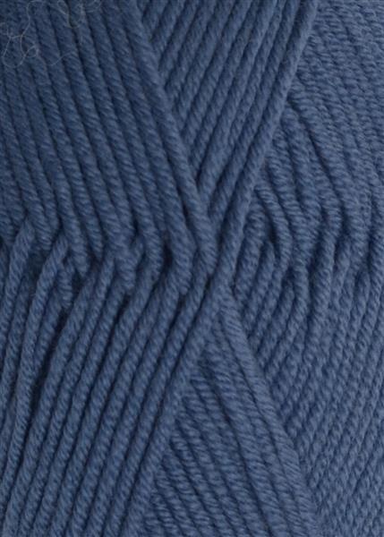 6052 Jeansblå merinould
