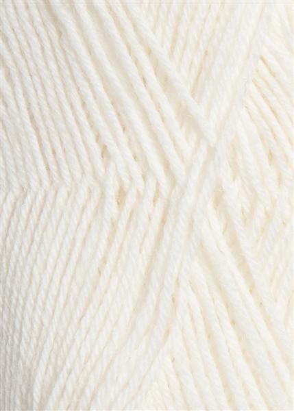 1001 optisk hvid Sisu Sandnes garn