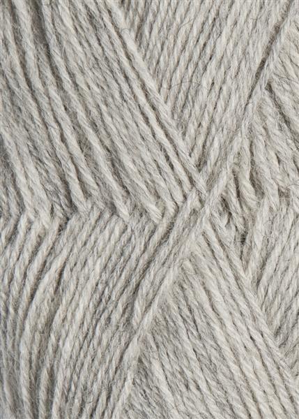 1032 lys gråmelert Sisu Sandnes garn