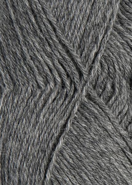 1042 gråmelert Sisu Sandnes garn