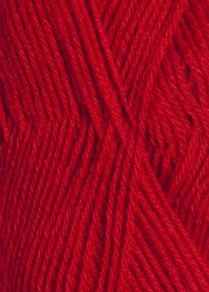 4219 rød print Sisu Sandnes garn