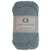 0029 - Pastel Blue Karen Klarbæk Bomuld 8/4 økologisk