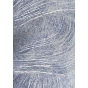 5835 Blåmeleret silk mohair fra Sandnesgarn