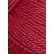 4327 Hindbærrød Alpakka silke