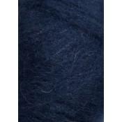 5575 Marineblå Børstet Alpakka