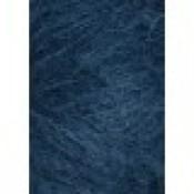 6563 Petroliumsblå Børstet Alpakka