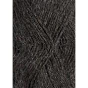 1053 Mørk Gråmelert Mini Alpakka