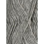 1042 gråmelert Alpakka