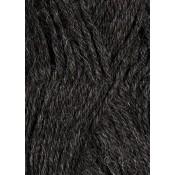 1053 mørk gråmelert Alpakka