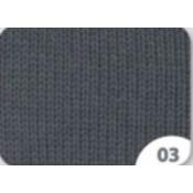 03 Mørk Grå Cewec Hot socks Pearl