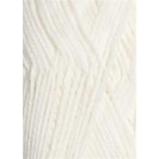 1001 optisk hvid Lanett Sandnes garn