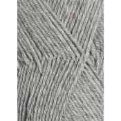 1032 lys gråmelert Lanett Sandnes garn