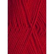 4128 mørk rød Lanett Sandnes garn