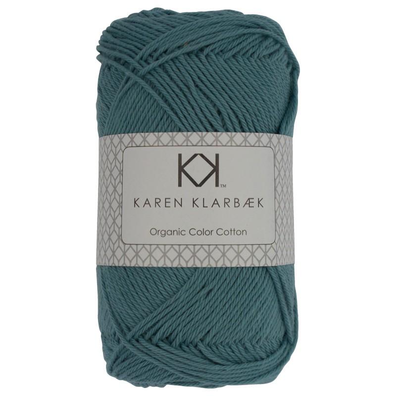 0011 - Medium Petrol Blue Karen Klarbæk Bomuld 8/4 økologisk