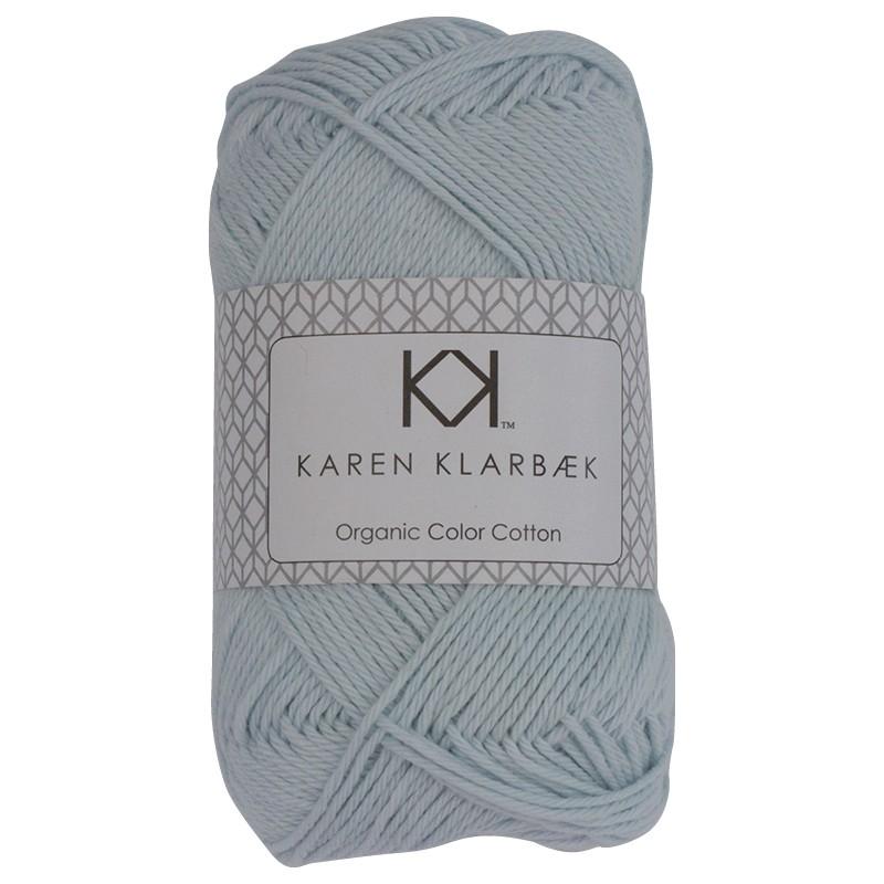 0023 - Baby Blue Karen Klarbæk Bomuld 8/4 økologisk