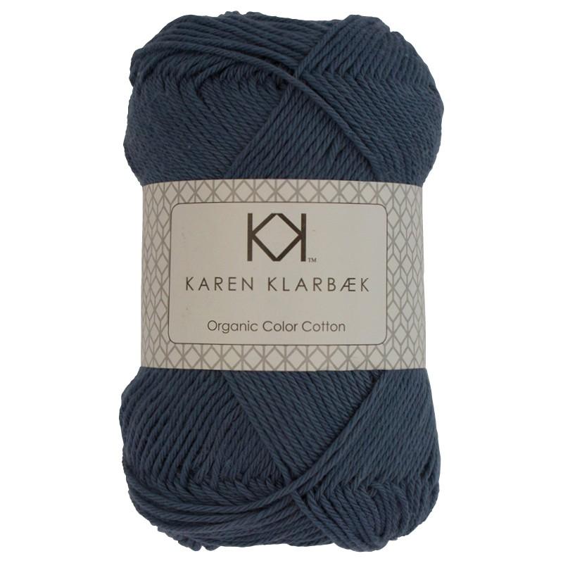0024 - Jeans Blue Karen Klarbæk Bomuld 8/4 økologisk