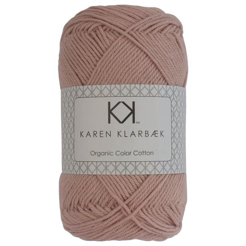 0043 - Dark Old Rose Karen Klarbæk Bomuld 8/4 økologisk