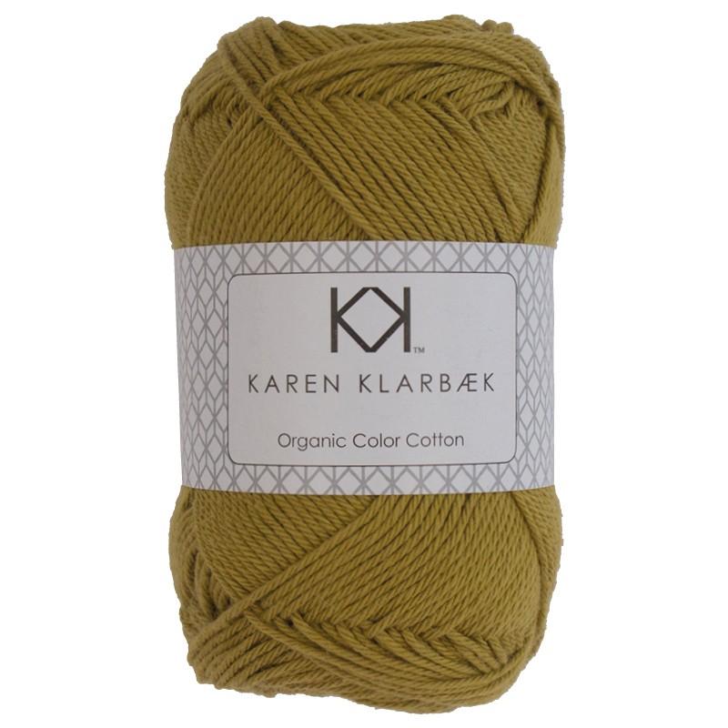 0044 - Mustard Karen Klarbæk Bomuld 8/4 økologisk