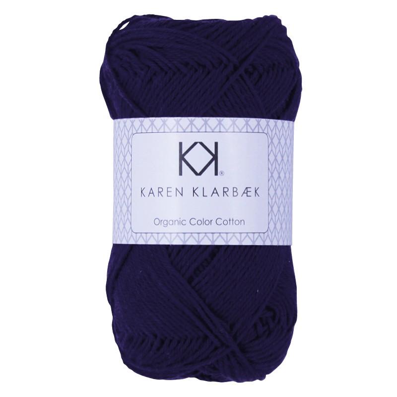 0064 - Dark Lilac Karen Klarbæk Bomuld 8/4 økologisk
