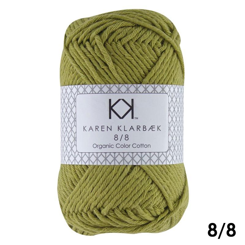 1005 Mustard  Karen Klarbæk Bomuld 8/8 økologisk