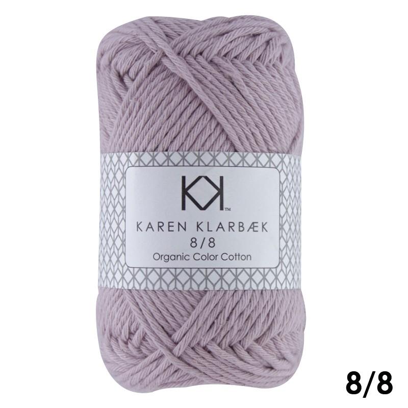 1006 Soft Lilac Karen Klarbæk Bomuld 8/8 økologisk