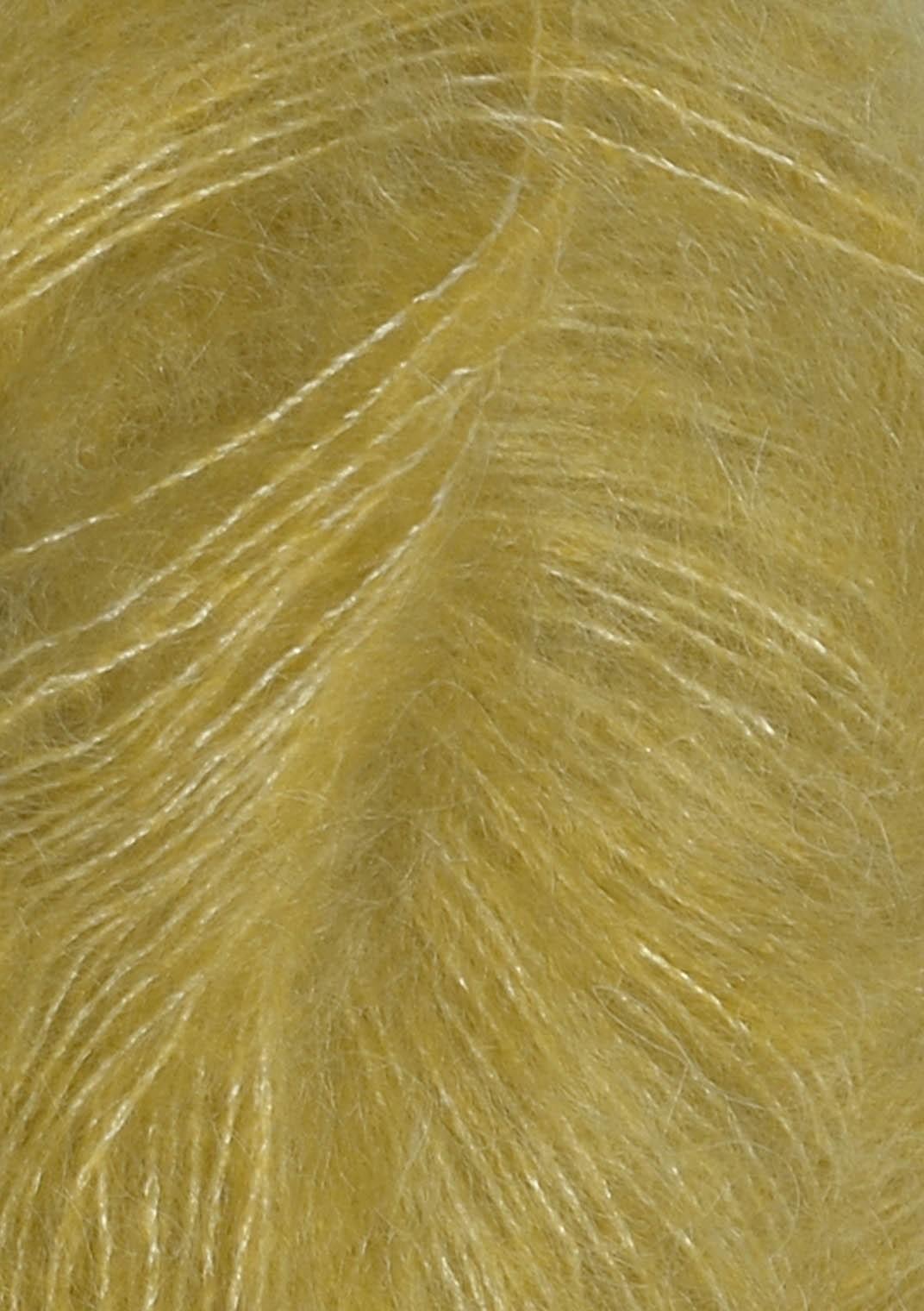 2024 Gul-Grøn silk mohair fra Sandnesgarn