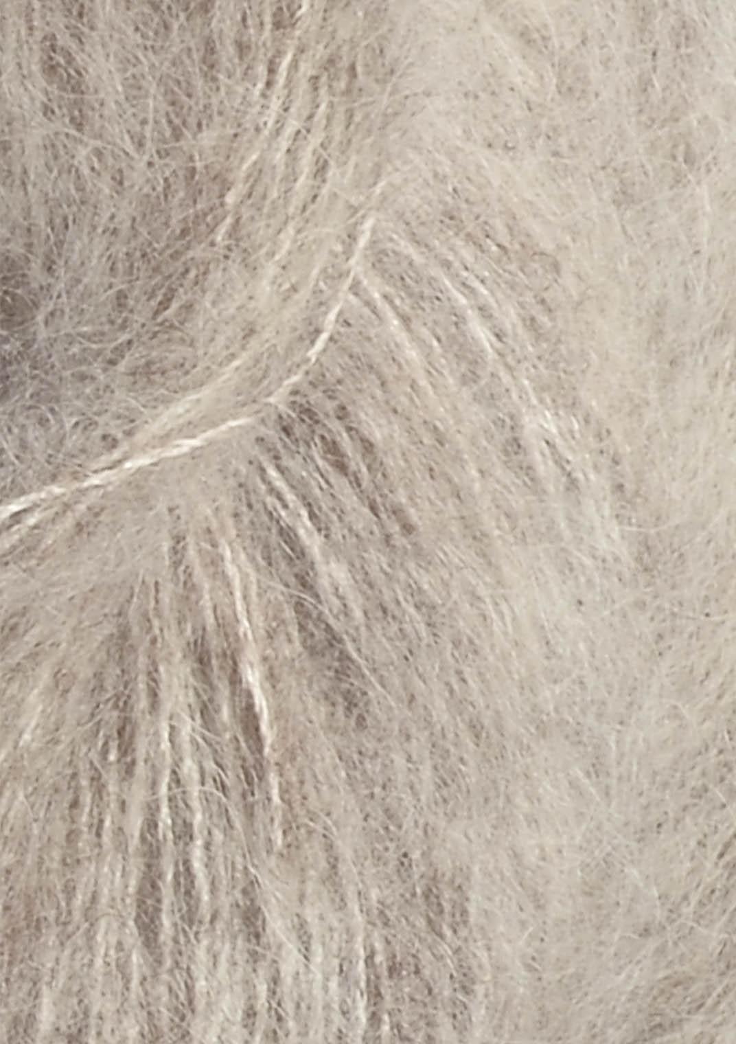 2650 Bigemeleret silk mohair fra Sandnesgarn