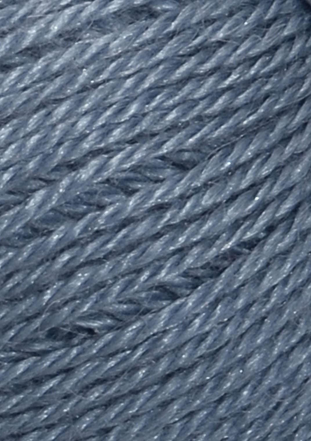 6052 jeans Blå Alpakka silke